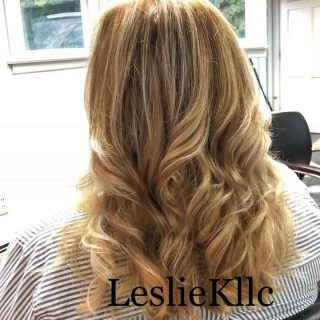 Come get your hair washed and leave with a great blowout at the Leslie K Salon_