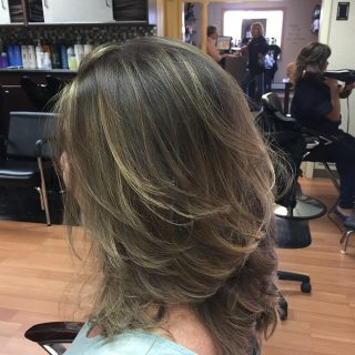 - Haircut services performed at Leslie K Salon_